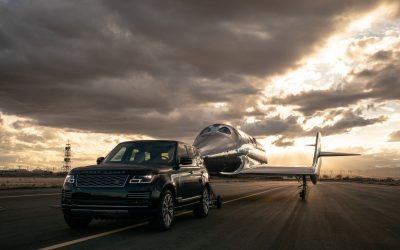 Land Rover and Virgin Galactic reach for the stars