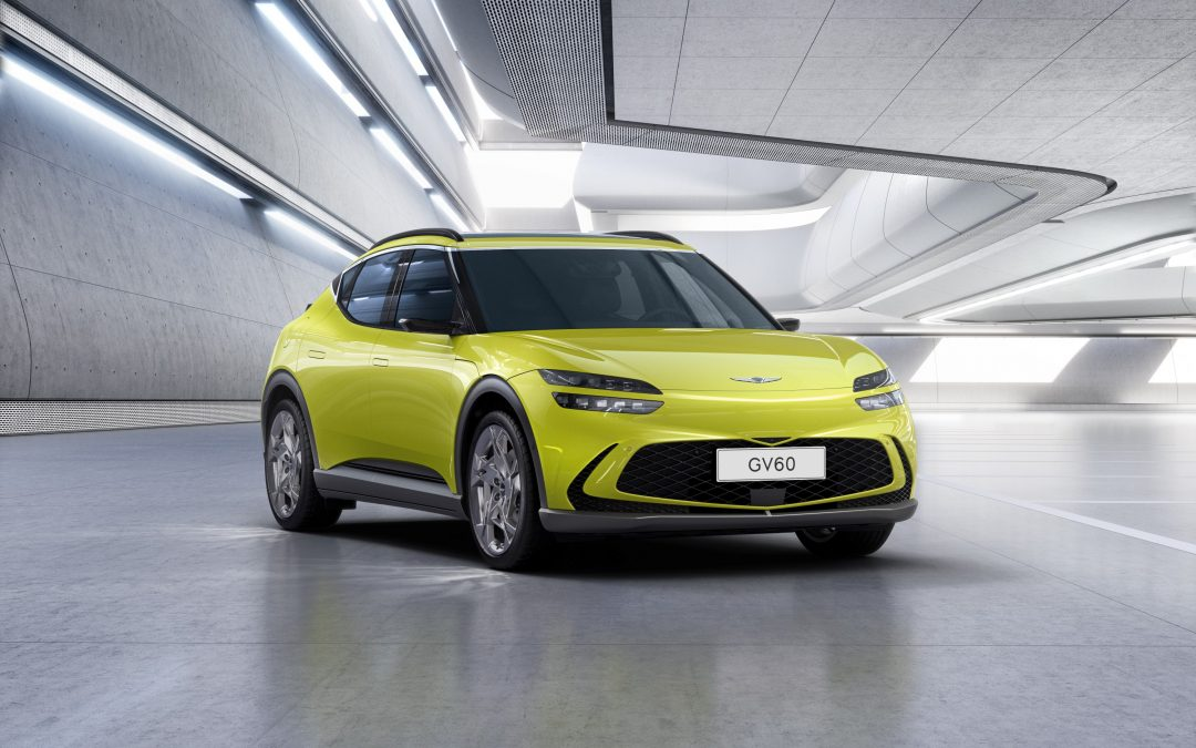 Genesis GV60 EV Revealed With Video Side Mirrors