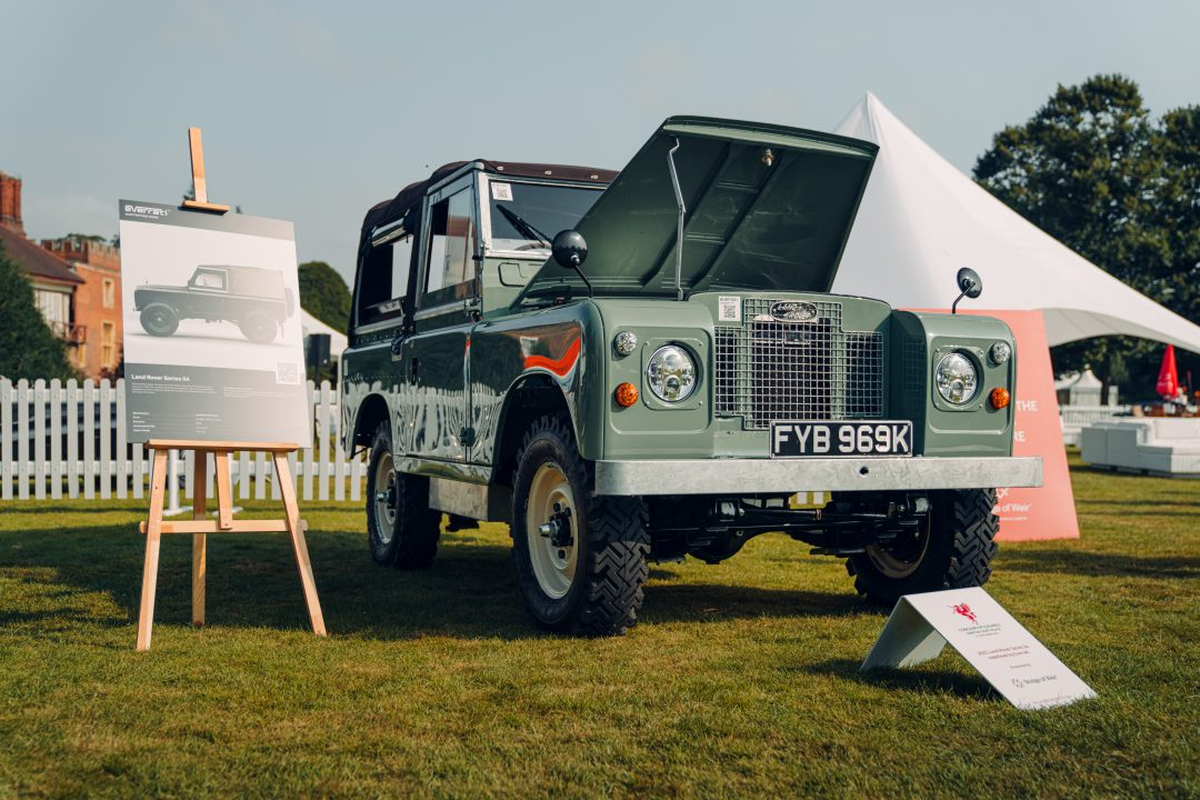 Electric Land Rover Series IIA? Yep, it's a thing.